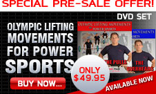 Olympic Lifting Movements for POWER SPORTS - DVD